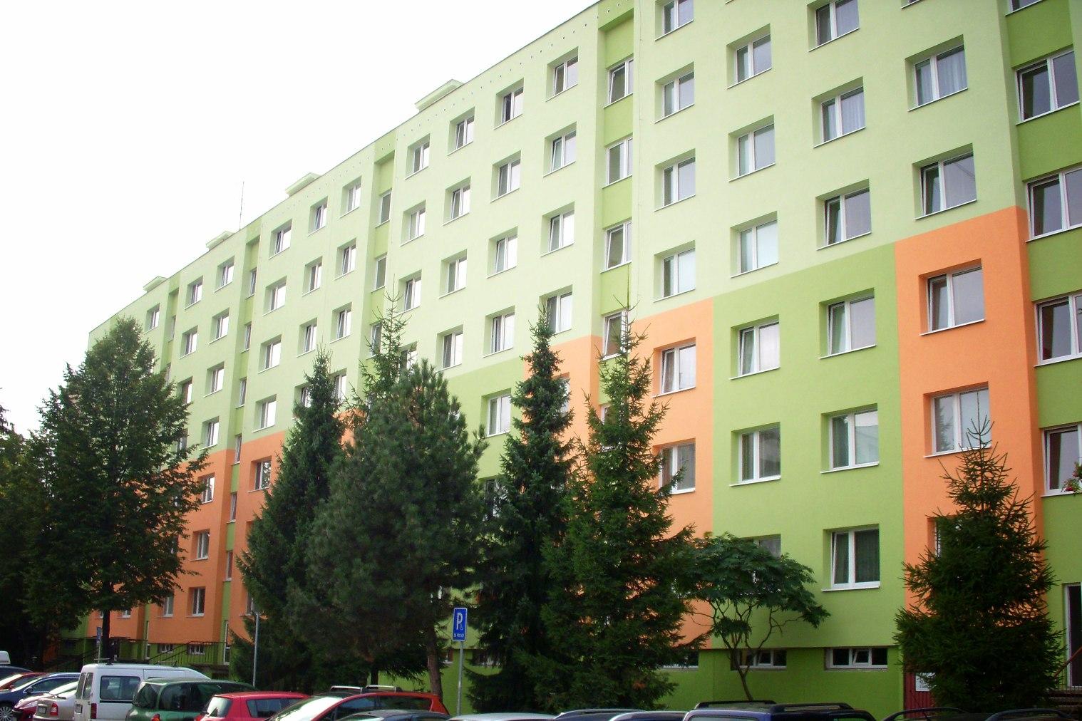 Kompletná obnova bytového domu Smrkeková, Žilina
