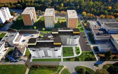 Vizualizácia UrbanPark Východná - pohľad na okolie | Urban-park.sk - ideálne mestské bývanie v Trenčíne